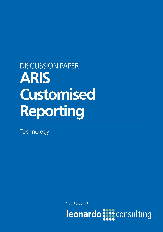 ARIS Customised Reporting