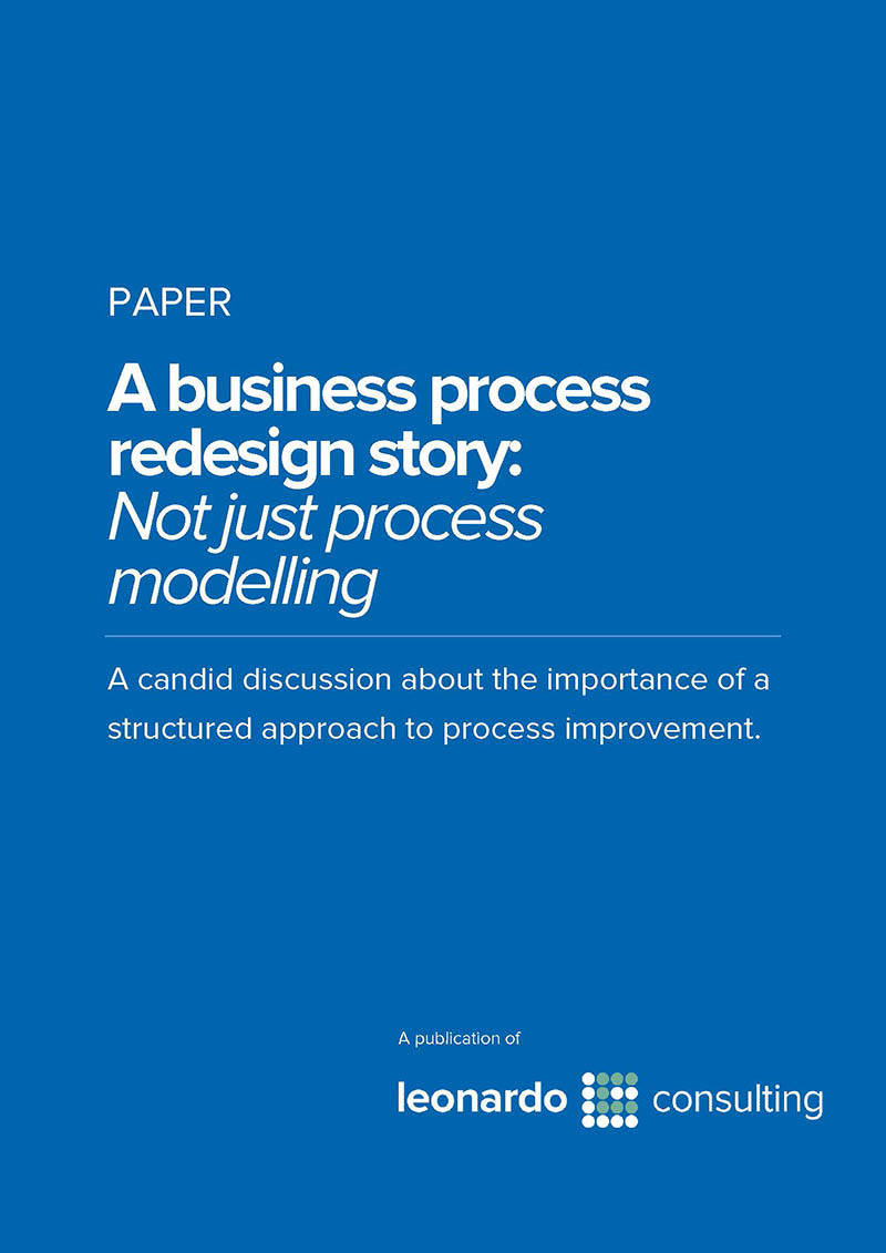 A business process redesign story